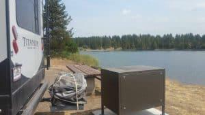 Lonesomehurst Campground near West Yellowstone, Mt.