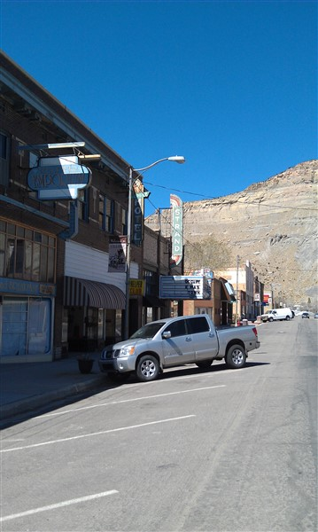 Helper Utah - looking north towards the Strand - 2012