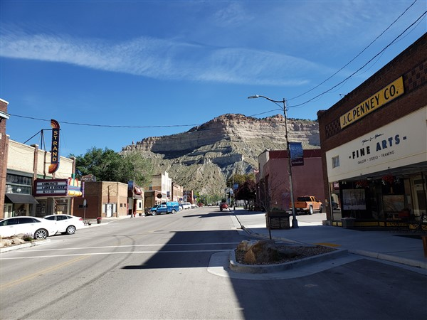 Helper Utah - looking north towards the Strand - 2019