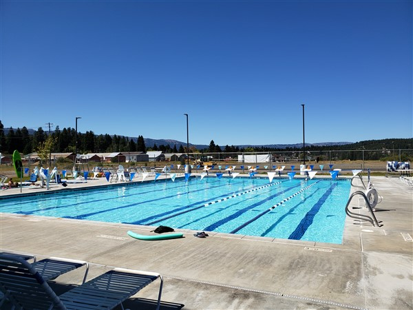 aquatic center in cascade near lake cascade state park