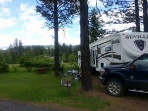 Camp Hosting in Dworshak State Park