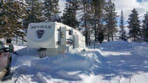 winter RV furnace failure