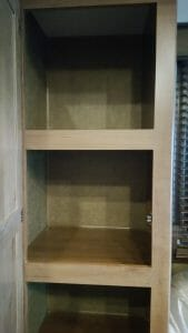 Glacier Peak F30RDS Pantry Space