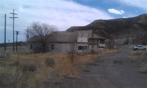 abandoned buildings Helper Ut. 2012