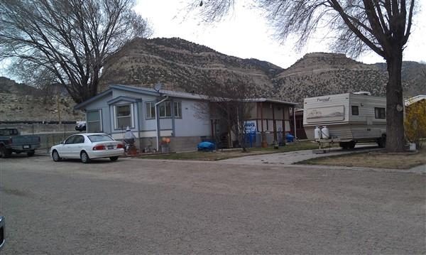 Pams Campground in 2012 in Helper Utah
